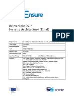 5G-EnSURE D2.7 SecurityArchitectureFinal