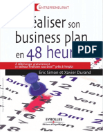 [Livres outils. Entrepreneuriat] Durand, Xavier_ Simon, Éric - Réaliser son business plan en 48 heures (2011, Éditions d'Organisation, Eyrolles).pdf