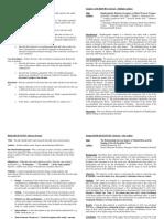 Case Presentation Policies