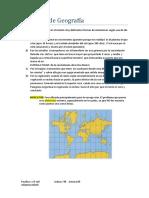 Resumen de Geografía
