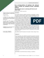 Cascada diagnóstica consecutiva al rastreo de cáncer colorrectal con sangre oculta en materia fecal