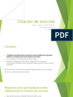 Citación de evicción.pptx