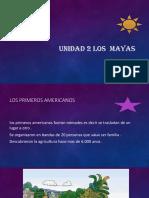 Unidad 2 Los Mayas