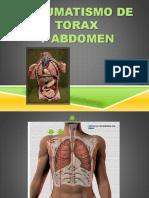 Trauma Torax y abdomen
