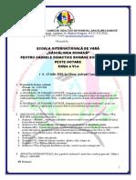 INVITAȚIE ȘCOALA DE VARA 2018 - PENTRU PARTICIPARE INDIRECTĂ ȘI DIRECTĂ.pdf