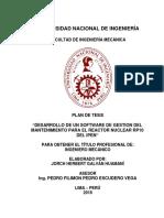 A. Caratula Plan de Tesis