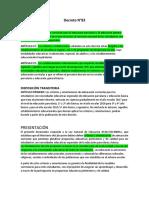 Decreto N°83 y DUA