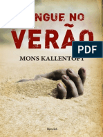 Sangue No Verão - Mons Kallentoft.epub