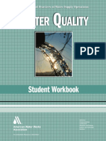 Water Quality WSO Student Workbook Water Supply Operations