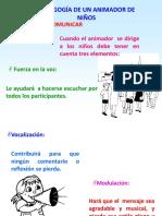 Pedagogia de Un Animador