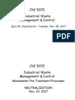 03-Pre-treatment-Neutralization, Nov. 23, 2017