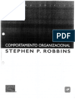 T. Robbins S. Comportamiento Organizacional