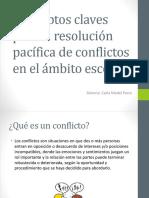 Conceptos Claves Para La Resolución Pacífica de Conflictos