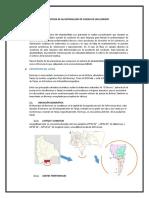 Proyecto Sanitaria II 2015 Calculos