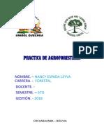 Practica de Agroforesteria