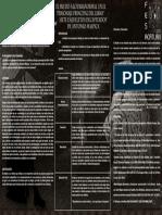 Análisis del libro- Siete esqueletos decapitados- (protocolo)