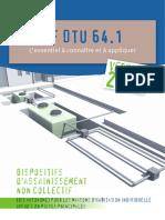 NF DTU 64.1 Lessentiel à Connaitre Et a Appliquer Version 2013