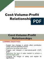4 Cost Volume Profit Relationships