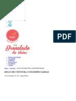 Bellaria Blog Bolo de Cenoura Americano