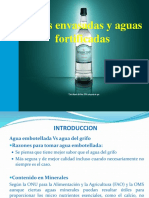 Aguas Envasadas y Aguas Fortificadas 2013