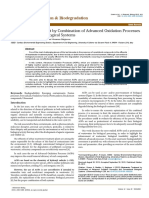 Wastewater Treatment by Combination of Advanced Oxidation Processes and Conventional Biological Systems 2155 6199.1000208