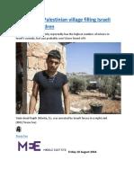 Azzoun  The Palestinian village filling Israeli jails with children.docx