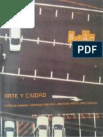 Arte y Ciudad, Esteticas Urbanas, Espacios Publicos.pdf
