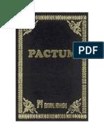 Anonimo, Pactum, Obra Magistral de La Hech Antig, 1757