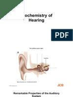 Biochemistry of Hearing