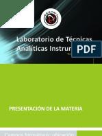 Laboratorio de Técnicas Analíticas Instrumentales