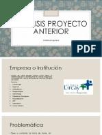 Analisis Proyecto Anterior - Catalina Aguilera