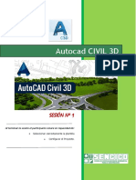 CLASE 1 CIVIL 3D - SENCICO CAJAMARCA