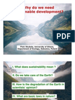 Why Do We Need Sustainable Development