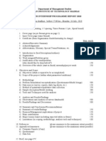 Summer Project Report Format
