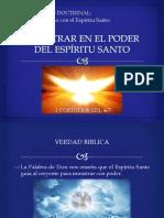 20161106 Ministrar Poder Espiritu Santo