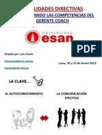 Hab Directivas - Competencias Del Gerente Coach Semana Intl