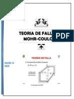 Teoria de Fallas de Mohr