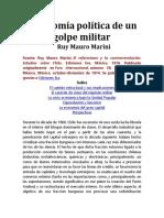 Economía política de un golpe militar Ruy Mauro Marini.pdf