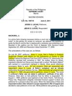 Lucas v. Lucas Digest