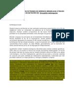 Verificacion de Los Patrones de Herencia a Atraves de Cruces de Mutantes de Drosophila Melanogaster