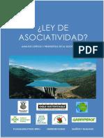 Ley de Asociatividad Analisis Critico y Propuestas de La Sociedad Civil