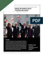 ¿SE INICIA UN NUEVO CICLO  POLÍTICO EN CHILE?