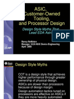 ASIC Design Flow - Sun Micro System
