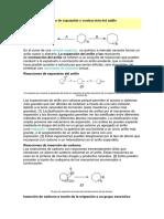 quimica organica  .,Anillo de Expansión y Contracción Del Anillo