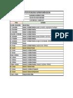 Cronograma IIS - 2016