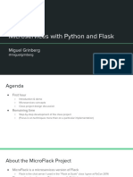 Microservices With Python and Flask