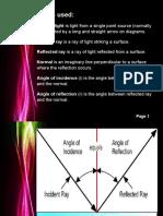 Drawing Ray Diagram