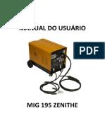 Manual do Usuário MIG 195 ZENITHE