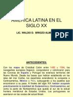 America Latina en el S. XX.