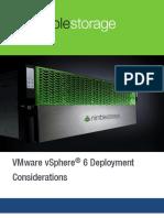 Nimble VMware VSphere6 DeploymentConsiderations
